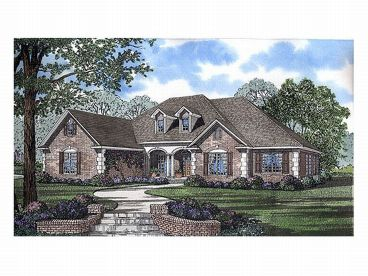 Ranch Home Plan, 025H-0119