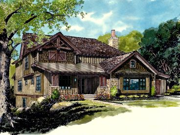 Waterfront House Plan, 066H-0028