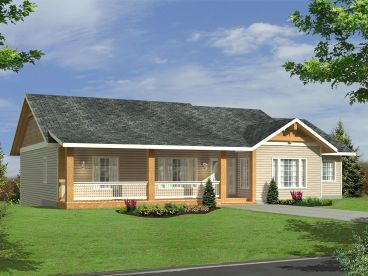 Ranch House Plan, 012H-0119