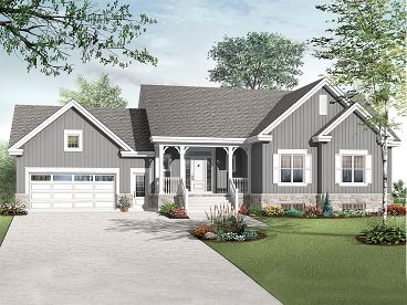 Family House Plan, 027H-0230