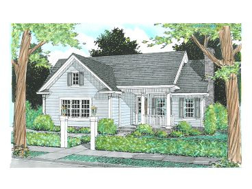Small Traditional Home, 059H-0048