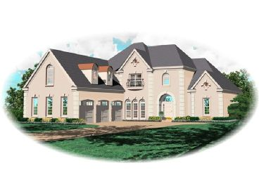 European House Design, 006H-0117