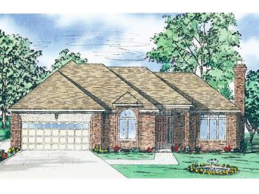 1-Story Home Plan, 009H-0046