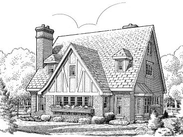 European Home Plan, 054H-0011