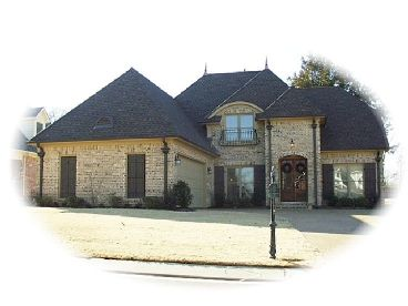 European House Plan, 006H-0102