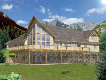 Mountain House Plan, 012H-0146