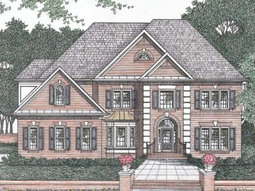 Traditional Home Plan, 045H-0031