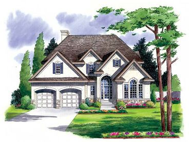 European House Plan, 047H-0019