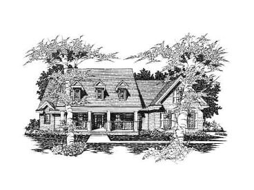 Luxury Home Plan, 061H-0114