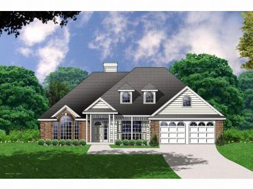 1-Story Home Plan, 015H-0082