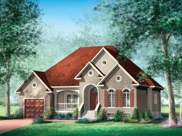 Small House Plan, 072H-0044