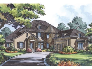 European Home Plan, 043H-0219