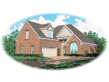 Two-Story House Plan, 006H-0029