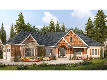 Mountain Home Plan, 019H-0160