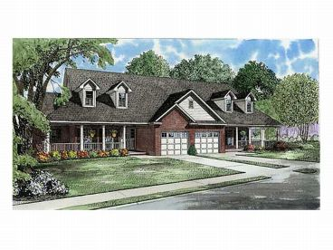 Multi-Family Home Plan, 025M-0054