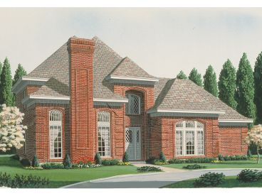 Two-Story House Plan, 054H-0131