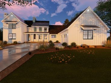 Farmhouse Plan, 050H-0136