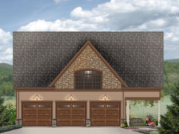 Carriage House Plan, 006G-0166