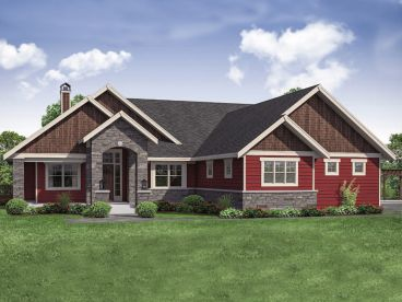 Traditional House Plan, 051H-0280