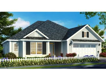 Bungalow House Plan, 059H-0207