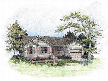 Ranch House Plan, 007H-0002