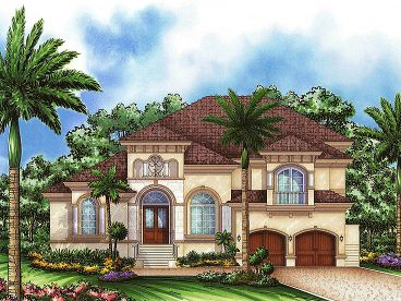 Luxury House Design, 037H-0130