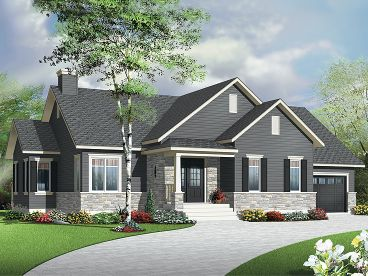 Empty-Nester House Plan, 027H-0316