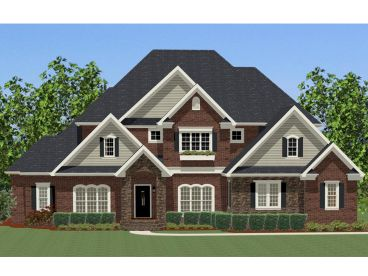 Traditional Home Plan, 067H-0026