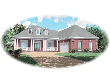 One-Story Home Design, 006H-0118