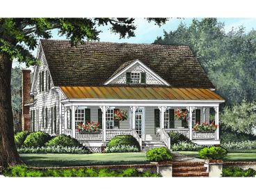 Narrow Lot House Plan, 063H-0150