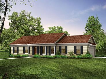 Affordable House Plan, 057H-0004