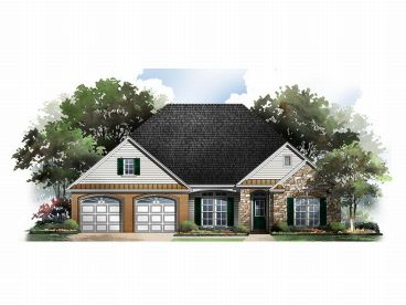 European Home Plan, 001H-0084
