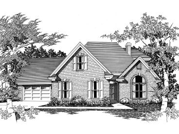 Luxury Home Plan, 061H-0087