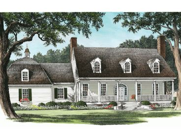 Two-Story House Plan, 063H-0161