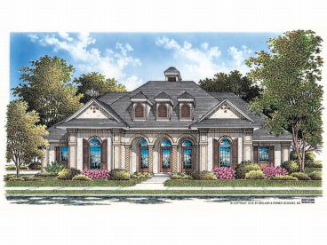 Sunbelt Home Plan, 021H-0140