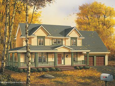 Country House Plan, 034H-0203