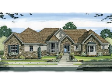 Luxury Home Plan, 050H-0078