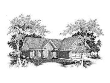 Affordable Ranch Home, 061H-0025