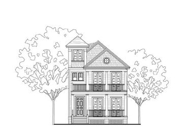 Southern Home Design, 058H-0057