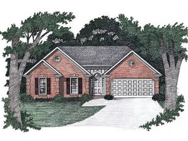 Traditional House Plan, 045H-0003