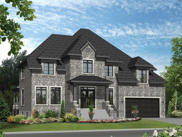 Premier Luxury Home Plan, 072H-0143