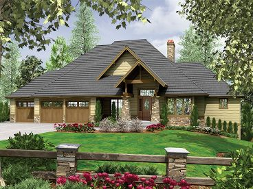 Luxury Home Plan, 034H-0011