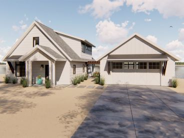 Vacation House Plan, 050H-0130