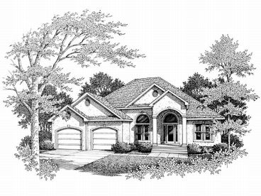 Sunbelt Home Plan, 004H-0076