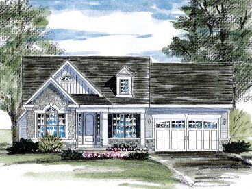 Empty-Nester House Plan, 014H-0103