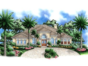 Luxury Home Plan, 037H-0098