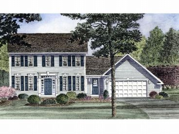 Cape Cod Home Plan, 014H-0062