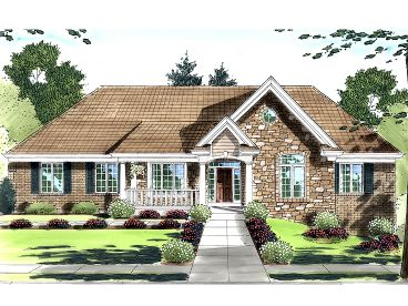 Sloping Lot House Plan, 046H-0028