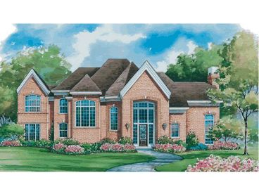 Luxury House Plan, 031H-0145
