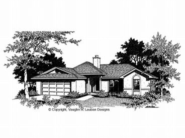 Sunbelt House Plan, 004H-0007